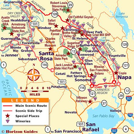 17 Best Ideas About Napa Valley Map On Pinterest Napa
