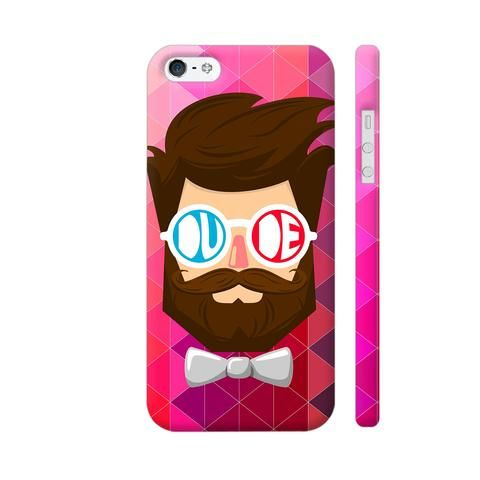 Dude With Beard Apple iPhone 5 / 5s Case