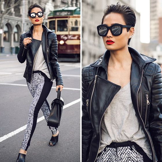 Leather & Reflections BY MICAH G., BLOGGER FROM MICAHGIANNELI . COM, AUSTRALIA #Lookbook