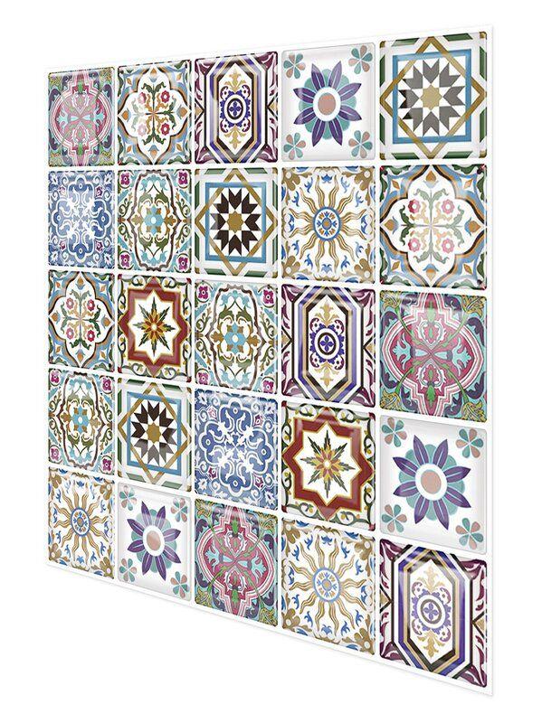 10 X 10 Pvc Peel Stick Mosaic Tile Stick On Tiles Mosaic Tiles Self Adhesive Wall Tiles