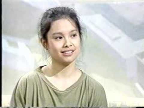 Lea Salonga interview with Terry Wogan 1989. Played lead in Miss Saigon at the age of 18, then won a Tony Award two years later for her performance.