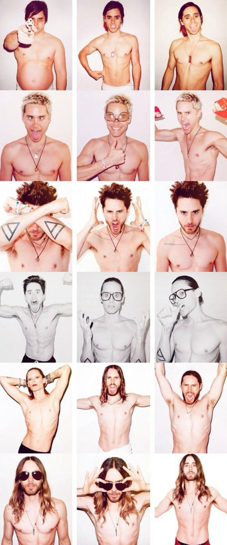 Jared Leto by Terry Richardson. Like a good wine, he's more handsome year after year.