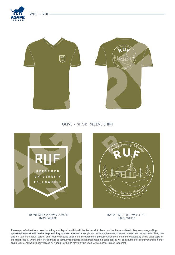 Agape North: Custom Apparel that Gives Back. #RUF #campingtrips