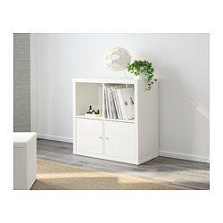 KALLAX Hylly, valkoinen - 77x77 cm - IKEA