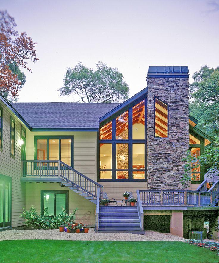 modern craftsman house plans