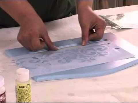 ▶ Kadife dokusu tekniği Ahşap boyama teknikleri - YouTube