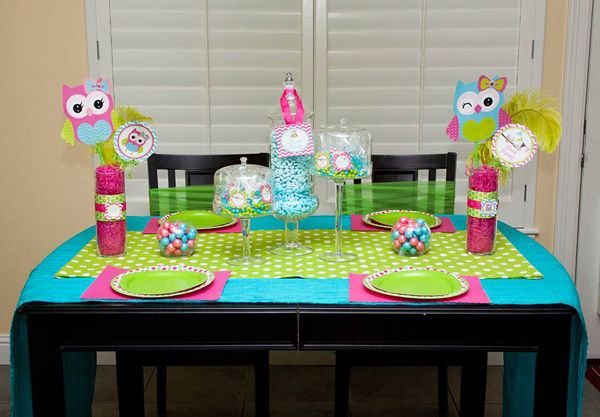 Owl Party Ideas - Owl Birthday Party | Lillian Hope Designs
