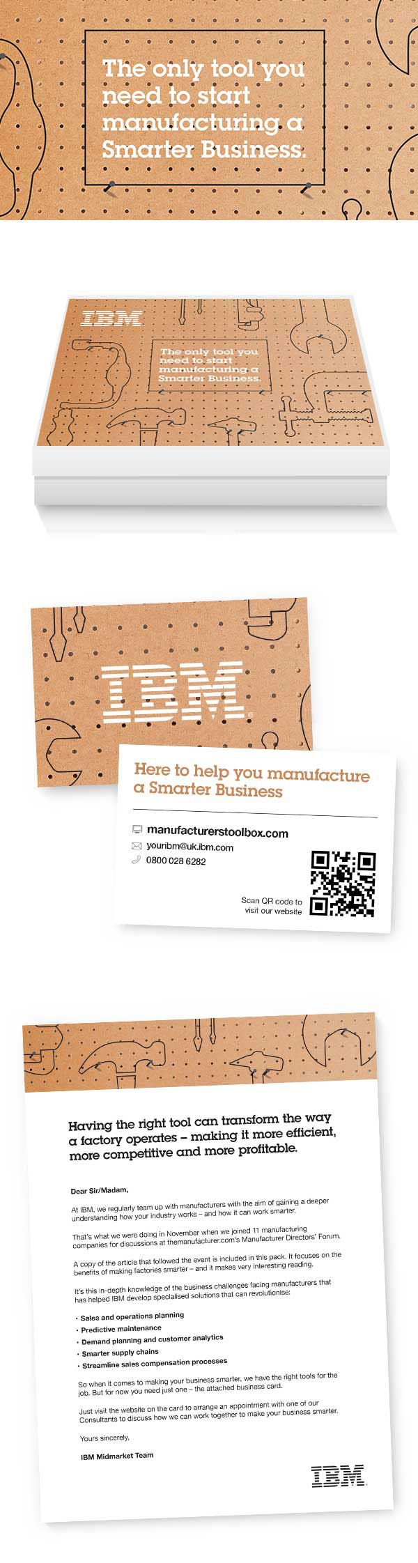 IBM Direct Marketing by Emily McMurrin, via Behance