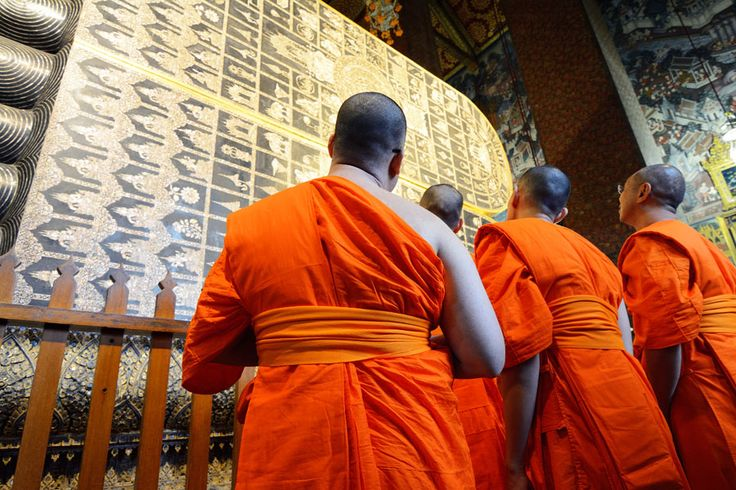 #thailand #monk in thailand