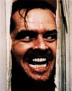 """Jack Torrance from The Shining - """"Here's Johnny!"""""""