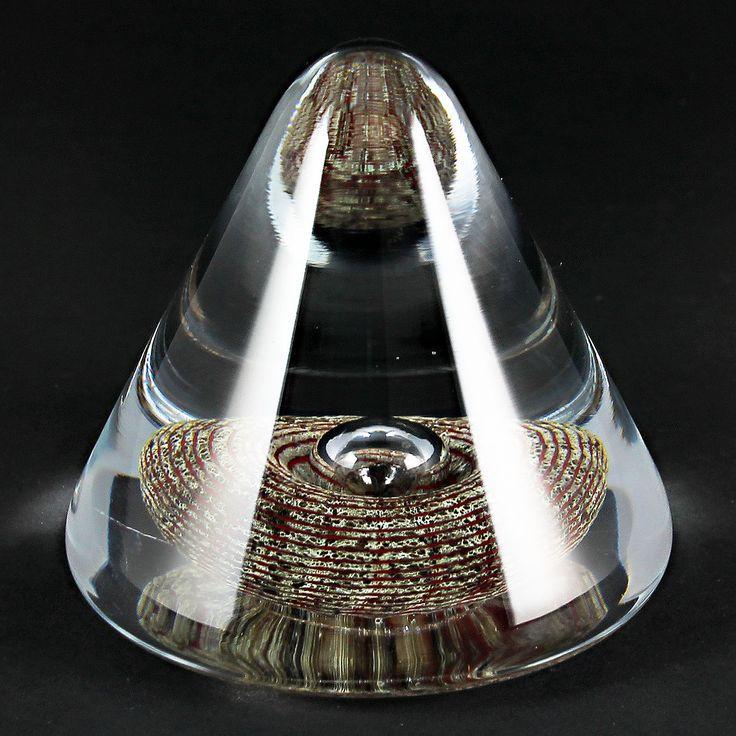 Bertil Vallien (1990s) Amazing Cone Sculpture with Artifact
