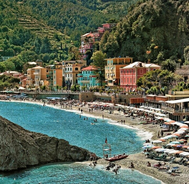 Monterosso - the 3rd village in the Cinque Terre. The most resort like town of the 5.