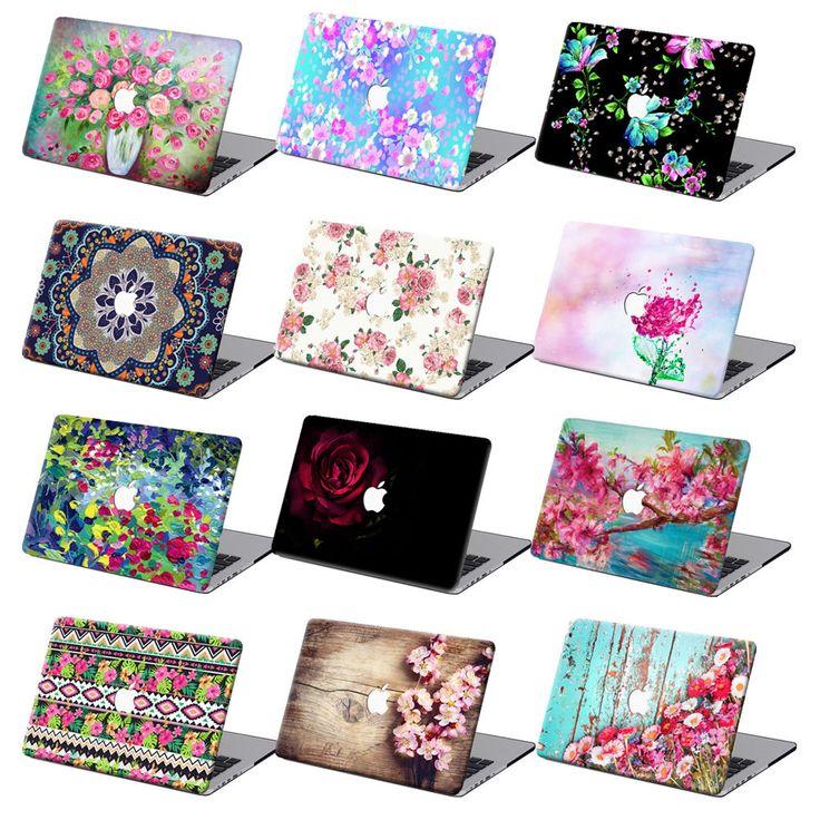 "For Macbook Air 11""12""Pro 13""15""Retina Flower Hard Laptop Case Floral Shell + KB #UnbrandedGeneric"