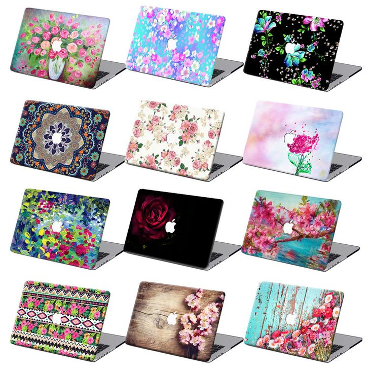 "For Macbook Air 11""12""Pro 13""15""Retina Flower Hard Laptop Case Floral Shell + KB #UnbrandedGeneric"