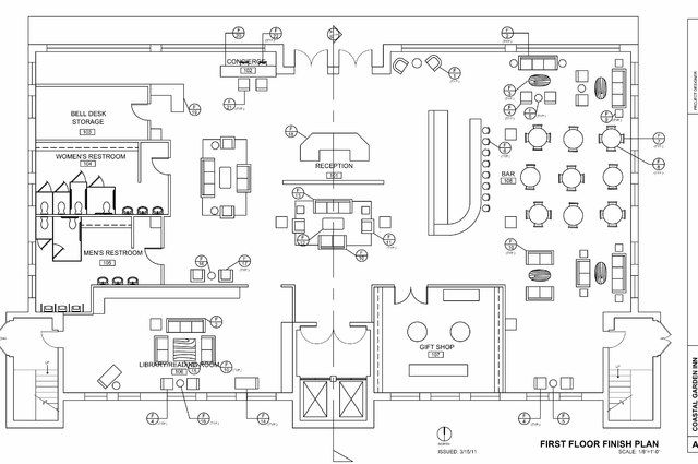 Hotel Lobby Floor Plan Design