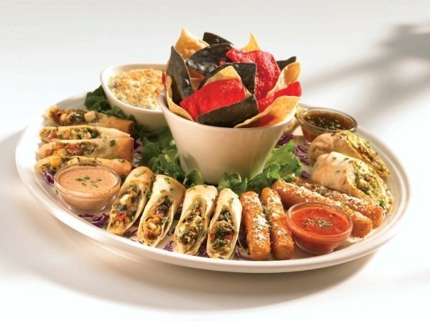 Appetizer Sampler at BJ's Restaurant and Brewhouse in # ...
