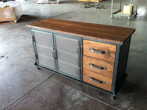 Ellis Console by Greg Hankerson of Vintage Industrial Furniture