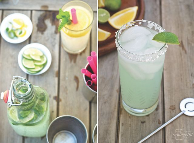 Easy Lemonade Cocktails: Mint Green, Lemonade Cocktails, 360Vodka, Cocktails Drinks, Cocktails Party'S, Easy Lemonade, Pink Lemonade, Colors Inspiration, Cocktails Recipes