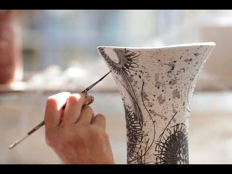 Ceramic Review: Masterclass with Daphne Carnegy - YouTube