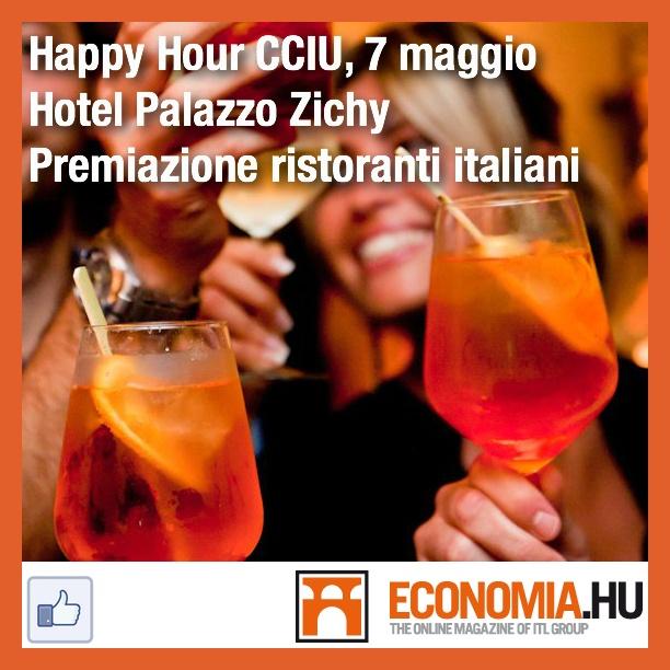 Happy Hour Camera di Commercio Italiana in Ungheria