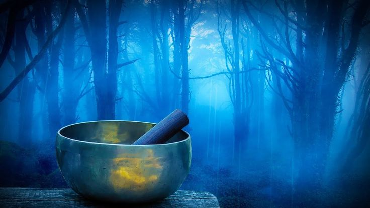 Rain in Woods + Tibetan Bowls | Relax, Study or Sleep with White Noise Music | 10 Hours - YouTube
