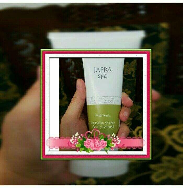 HOREE... MUD MASK JAFRA ada yg mini nya loch isi 75ml  Tapi ini bukan untuk dijual ya, Jafra Lovers bisa dapatkan mud mask ini jika join di Keluarga JAFRA!  #mudmaskminijafra #joinjafra