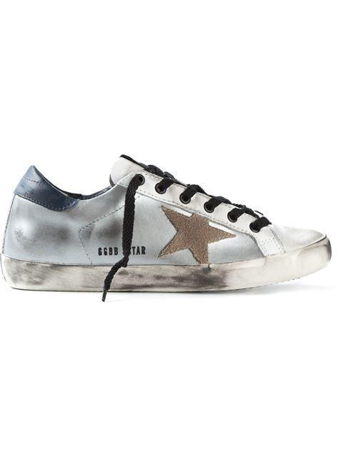 Golden Goose Slide Metallic Leather Sneakers with Studs Gr. EU 41 jTL3cY911