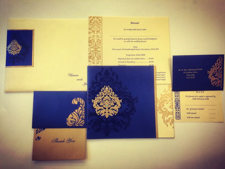 Made from high rich color shimmer finish card of fine quality. A very modern and artistic presentation of gold design is decorated with shimmering kundans on left flap, a die-cut flap on right with gold design. #WeddingCards #SikhWeddingIvitation