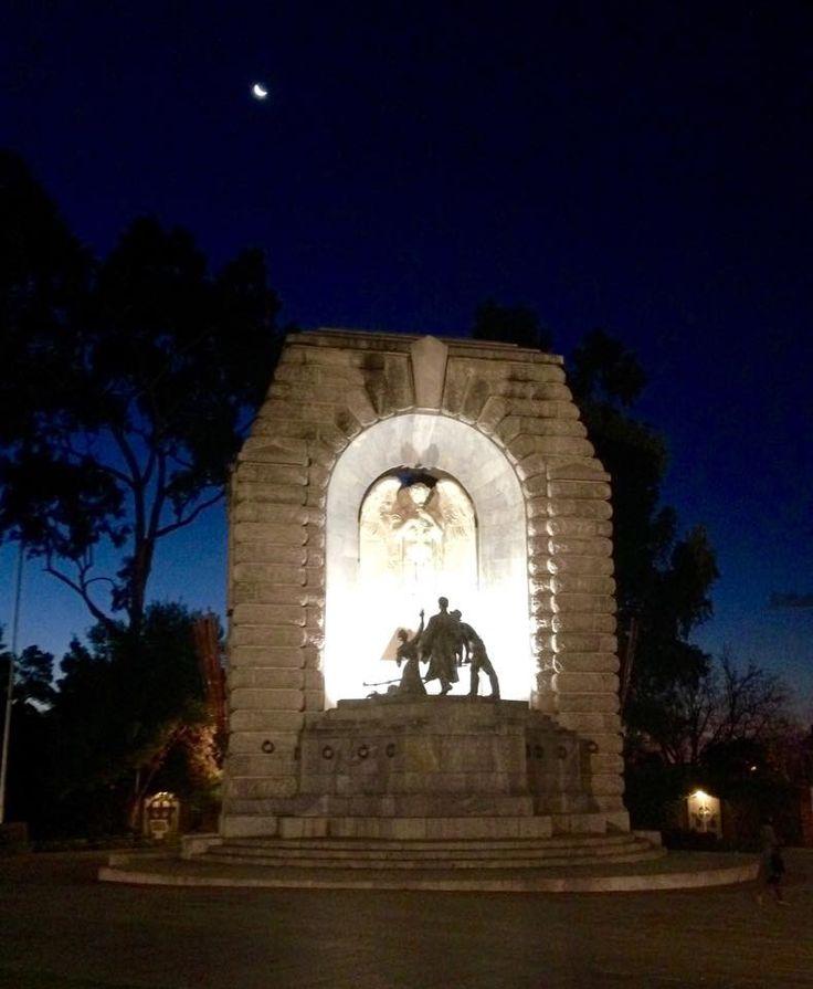 The War Memorial North Terrace Adelaide South Australia.