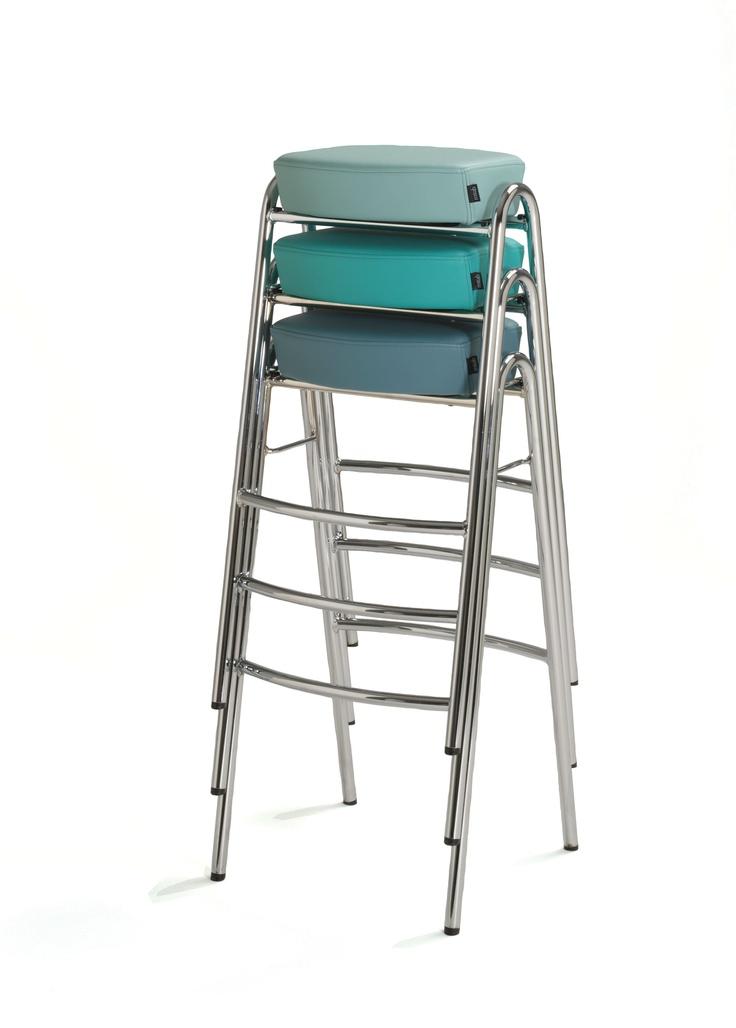 Stack stool by John-Bertil Häggström for Mitab