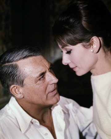 Charade (1963) starring Audrey Hepburn and Carey Grant.