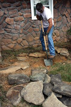 Using Available Stones to Build Your Attractive Rock Garden Border - Extreme How To - View All