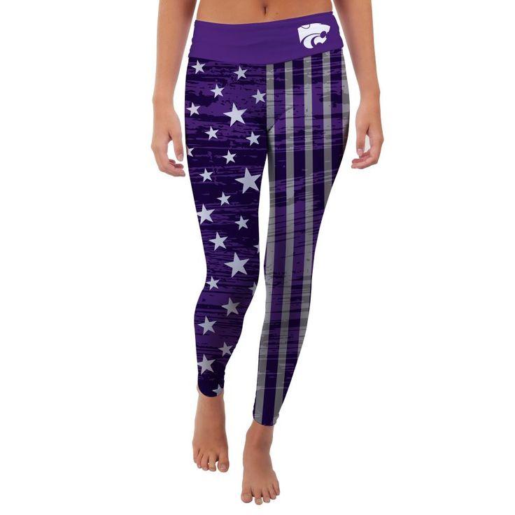 Hot new product: KANSAS STATE UNIV... Buy it now! http://www.757sc.com/products/kansas-state-university-wildcats-womens-yoga-pants-vintage-american-flag-design-s?utm_campaign=social_autopilot&utm_source=pin&utm_medium=pin