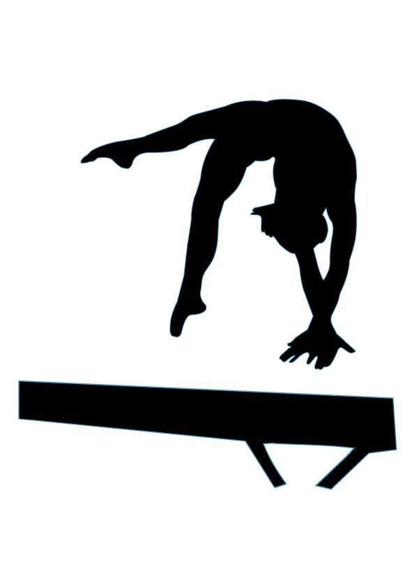 Clip Art Gymnast Clip Art 1000 images about gymnastics silhouettes on pinterest fitness silhouette 17 custom wall decals decal art and decal