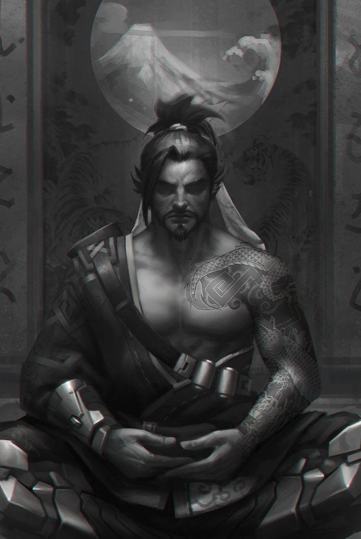 hanzo, jialin Z on ArtStation at https://www.artstation.com/artwork/16y38