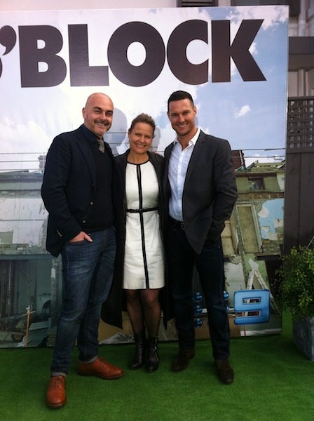 Behind the Scenes at the The Block 2012 Grand Finale Auctions with Darren Palmer