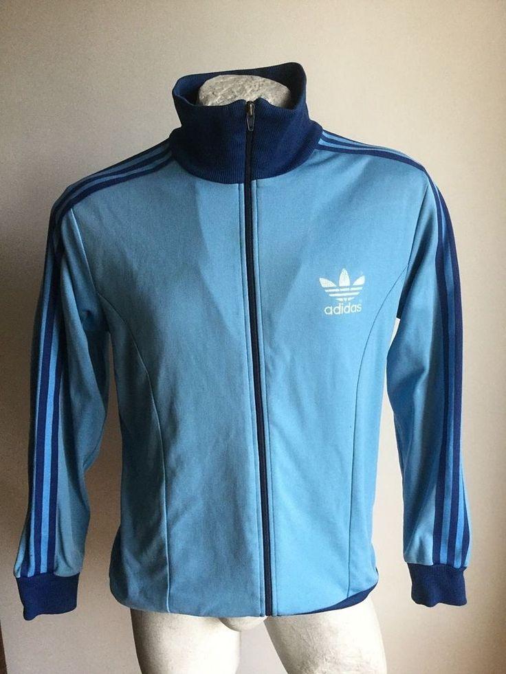 Maglia adidas felpa tracksuit sweater jacket jacke giacca size D8