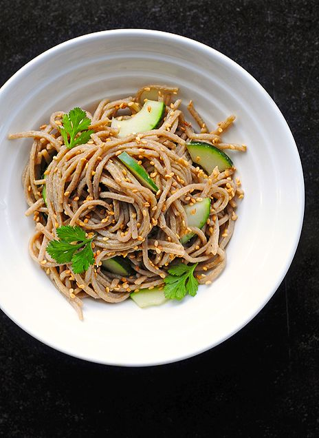 Wasabi Noodles -- so easy and so full of flavor!