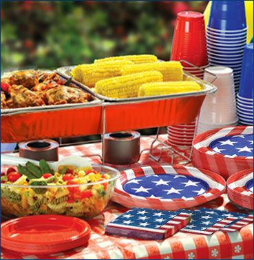 Drinkware, Serveware Fourth of July Party City