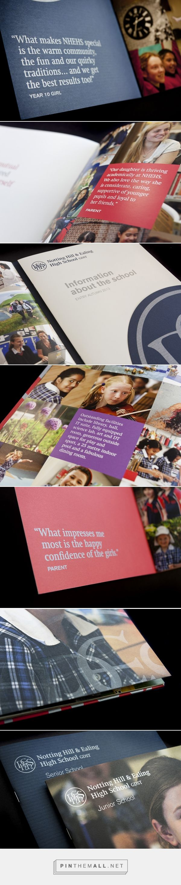 How did we raise the bar in school prospectus design? | Ball Design Consultancy - created via https://pinthemall.net