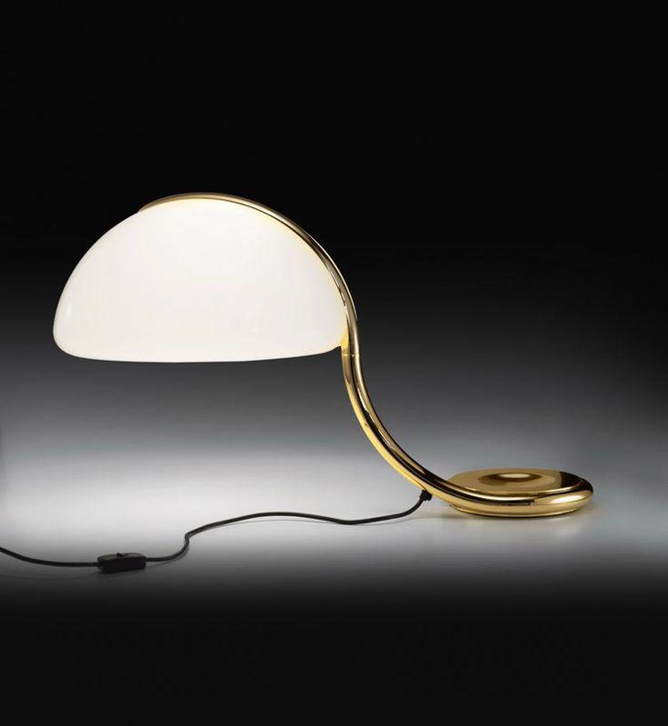 Martinelli Luce in 10 frames: Serpente lamp, Elio Martinelli, 1965/2015