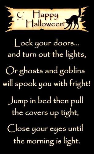 All Hallows Eve Poem