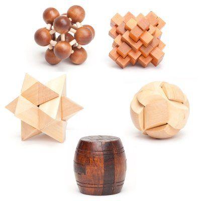 Du suchst die ultimative Knobelherausforderung? Teste Deine Geduld, Geschicklichkeit und Kreativität mit diesen Knobelspielen aus Holz. via www.monsterzeug.de