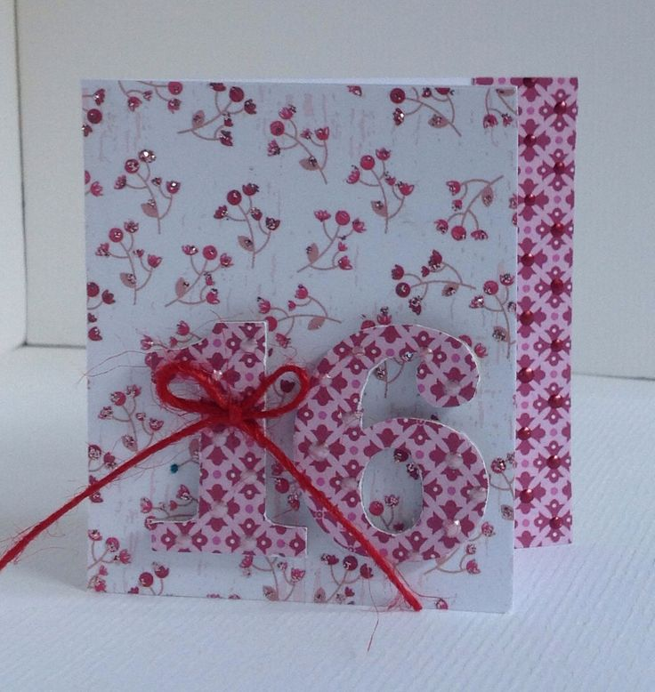 Card designed by Julie Hickey using Bonbon 6x6 paper pad, die cuts and template. Pretty tiny card with chipboard 16 embellished with twine.
