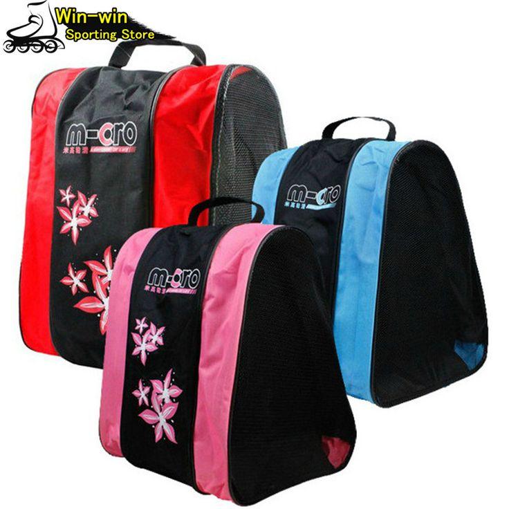 New Kids Adult Roller Skating Bag Portable Carry Bag Shoulder Bag Professional Skate Bag 39*30*40cm