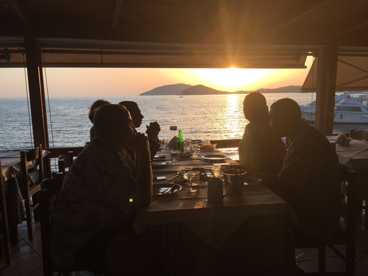 To Kyma fish restaurant just north along the coast from Temple of Poseidon - Athens Attica Greece