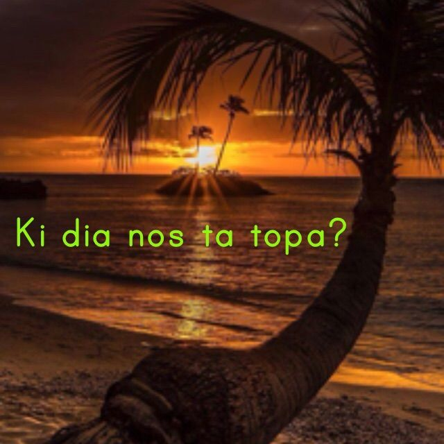 When will we meet? | Ki dia nos ta topa? For translation services contact us at info@henkyspapiamento.com  #papiamentu #papiaments #papiamento #creole #language #curacao #bonaire #aruba #caribbean #when #wanneer #cuando #quando #meet #ontmoeten #encontrarse #encontrar More learning materials available at henkyspapiamento.com