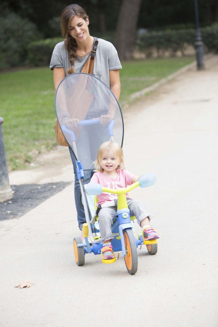 Descubre nuestro triciclo evolutivo 3x3 :) ¡Es paseador y triciclo al mismo tiempo! #triciclo #bebe #imaginarium