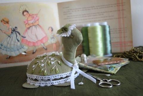 Rose la tortue élégante pincushions: Élégante Pincushions, Élégant Pincushions, De Rose, Rose La, Pincushions Frenzi, Pincushions Porte