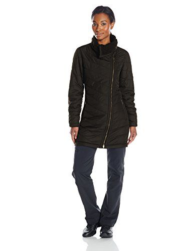 prAna Womens Diva Long Jacket Medium Black -- You can find out more details at the link of the image. (Note:Amazon affiliate link)